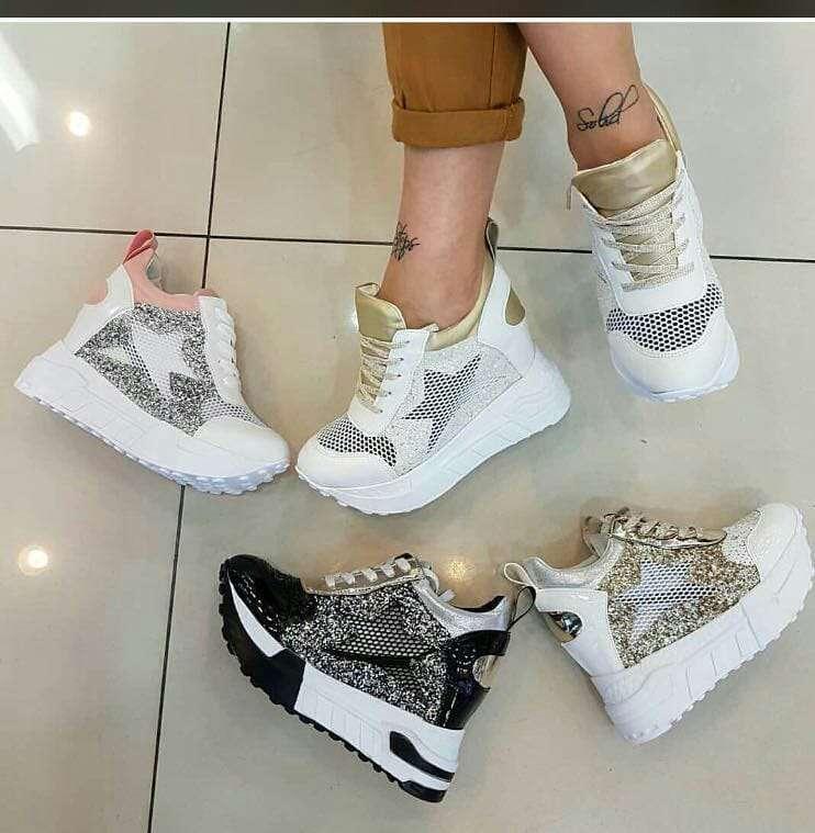 Topuklu Spor Ayakkabı Moda Piyasa